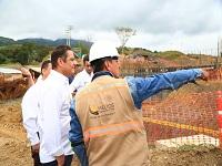 Continúan obras del Intercambiador que comunica a Villeta con Guaduas