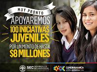 Abierta convocatoria para Banco de Iniciativas juveniles