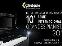 Disfrute de la Serie Internacional de Grandes Pianistas