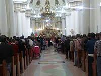 Soacha fue epicentro  de oración en la Basílica de Chiquinquirá