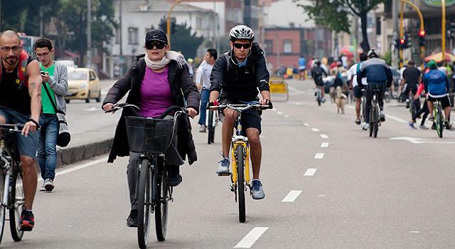 Avanza el día sin carro en Bogotá
