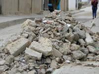 En Soacha no hay  un sitio para depositar  los escombros