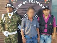 Ejército captura en Soacha a sujeto señalado de acceso carnal violento