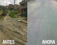 Comunidad de Julio Rincón y Alcaldía de Soacha rehabilitaron vía del barrio