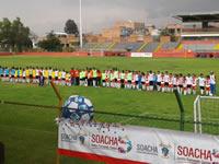 El fútbol crea  espacio de unión y deporte en Soacha