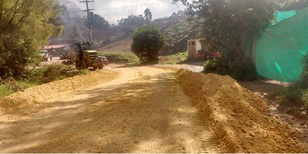 Sector rural de Soacha, aislado y sin mercado