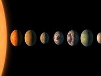 Fueron encontrados siete planetas similares a la Tierra