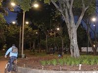 Iluminación de parques bogotanos  reforzará seguridad en las noches