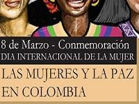 """Asista al conversatorio """"Las mujeres y la paz en Colombia"""""""