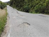 Aumentan quejas por mal estado en la vía a Choachí
