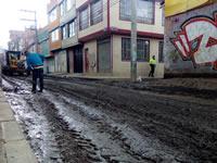 Habitantes de Nuevo Colón en Soacha  llevan más de 10 años afectados por las lluvias