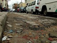 Urgente reparación necesitan las  calles  del centro de Soacha
