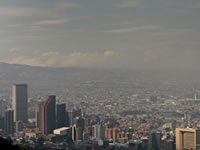 Grave contaminación atmosférica en Bogotá y Soacha