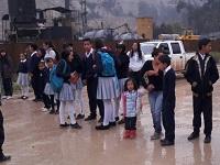 Por falta de rutas escolares  bloquean ingreso a Corregimiento uno de Soacha