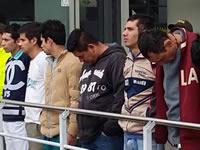 En Soacha capturan siete delincuentes que se dedicaban al microtràfico