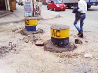 Secretaría de Movilidad permite daño de vías en los barrios de Soacha
