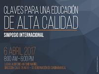"""Docentes podrán asistir a simposio internacional """"Claves para una educación de alta calidad"""""""