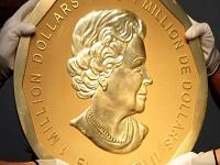 Fue robada en Berlín la moneda de oro más grande del mundo