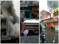 Zona comercial en Girardot fue destruida por incendio