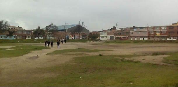 Atraco y abuso en el Parque de Los Locos de Soacha