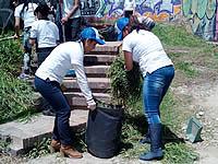 En el mes de la niñez  empieza recuperación de parques en Soacha