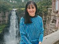 La mujer que trabaja  por el reconocimiento del Salto del Tequendama