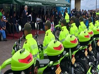 Nuevo parque automotor fortalecerá la seguridad en Bogotá