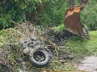 Sibaté realizó limpieza de la ronda de Quebrada La Chacua