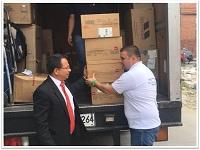 Departamento recibió donación para grupos  en riesgo de desnutrición
