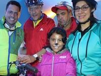 Más de 400 soachunos celebraron el día internacional de la bicicleta