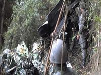 Avión militar cayó en Facatativá