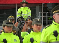 Policía de Soacha recibe  nuevos elementos tecnológicos
