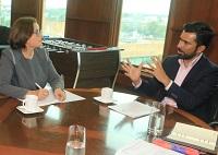 Unión Europea interesada en apoyar proyectos departamentales