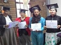 En Sibaté adultos mayores se graduaron en uso de TIC
