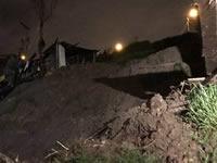 Mueren tres personas por deslizamiento de tierra en Soacha