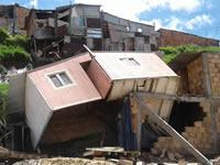 Desolador panorama en la comuna 4 de Soacha luego de la tragedia que dejó cuatro muertos