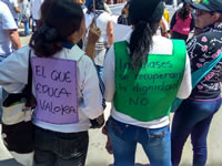 Caos en la Autopista Sur de Soacha por marchas docentes
