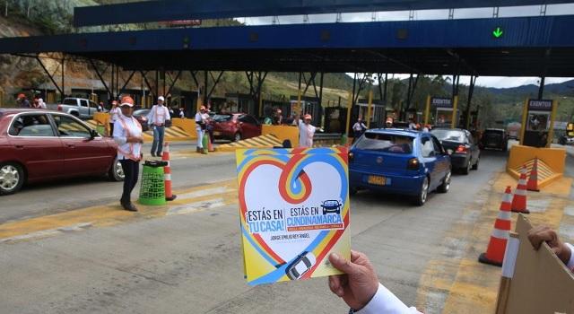 Departamento le apuesta a la seguridad vial y señalización de Cundinamarca