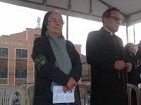 En el parque de Soacha se celebraron las vísperas a María Auxiliadora