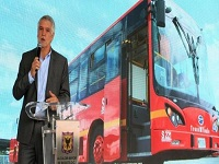 En funcionamiento el primer bus eléctrico para Bogotá