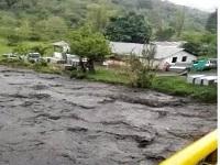 Alerta Roja en Fómeque por creciente del río Negro