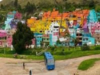 Barrio Los Puentes en Bogotá ahora es un gran mural