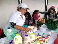 Con éxito se realizó mercado campesino en Soacha