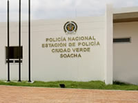Este miércoles se inaugura  Estación de Policía de Ciudad Verde en Soacha