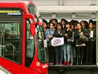 30 mil usuarios han tomado las nuevas rutas fáciles de Transmilenio  en hora pico