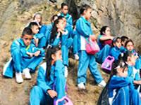 Niños de Soacha reconocen su milenaria herencia rupestre