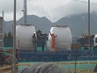 Llegan primeras cabinas del cable aéreo de Ciudad Bolívar