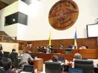 Ratificada mesa directiva de la Asamblea de Cundinamarca