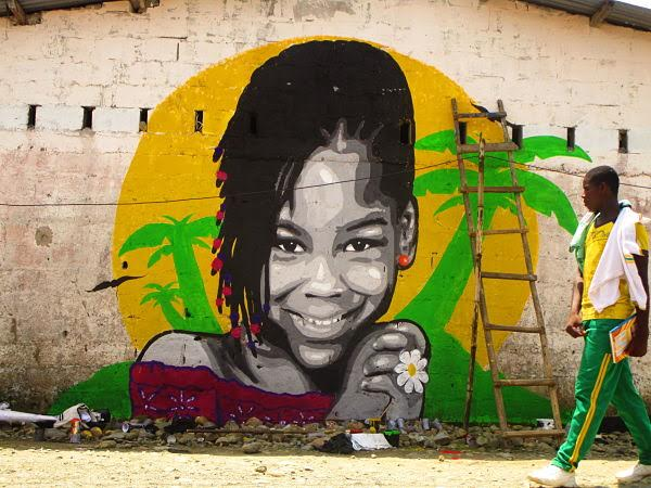 Graffiti soachuno de exposición