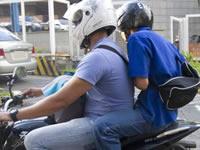 En Soacha prohíben parrillero en las motos los fines de semana